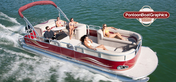 Feeling Great On Your Boat Pontoonboatgraphicscom - Vinyl graphics decals for boats