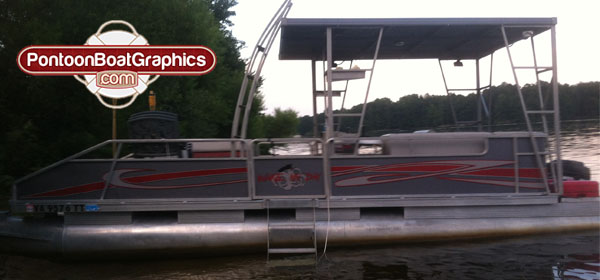 Graphics For Pontoon Boat Striping Graphics Wwwgraphicsbuzzcom - Decals for pontoon boats