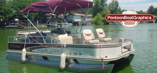 PontoonboatGraphicscom Blog - Decals for pontoon boats